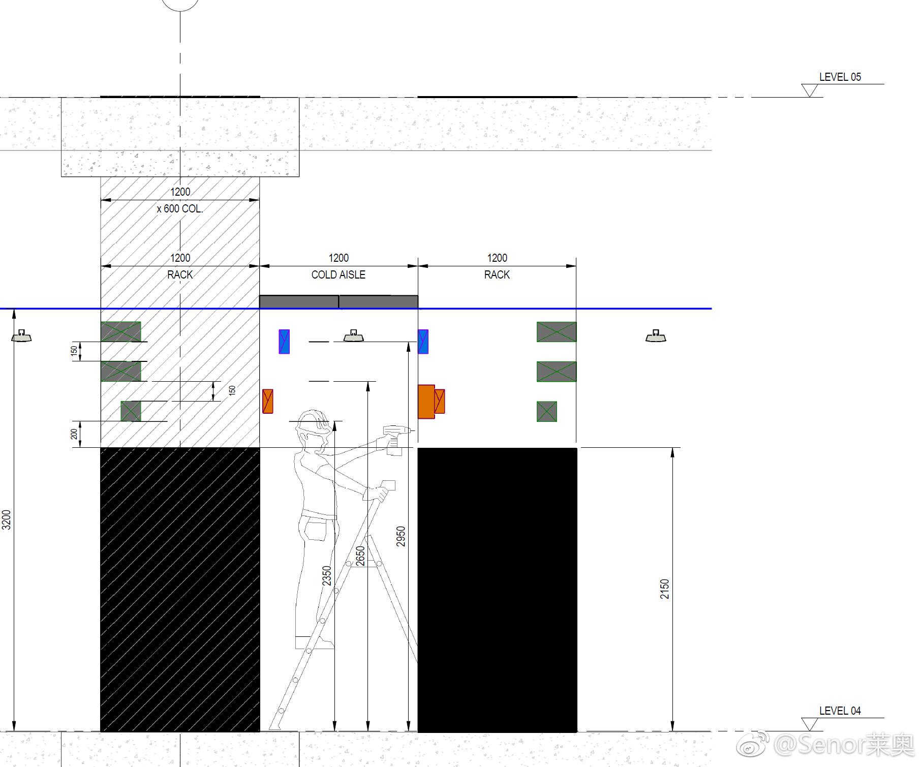 [分享]一个很好的机房设计分析图,分享给大家