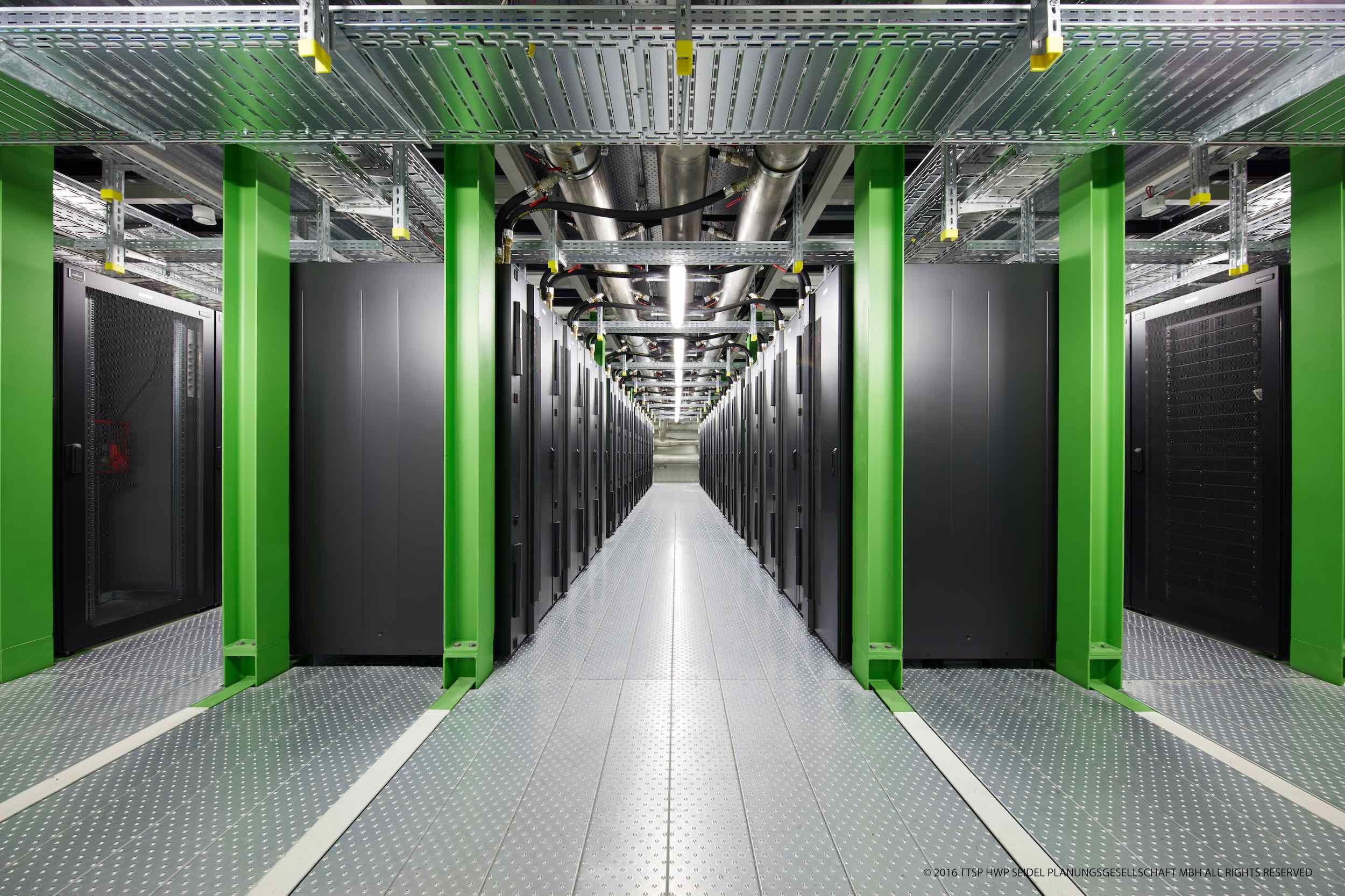 数据中心机房建设中的的色彩管理,颜值十足!
